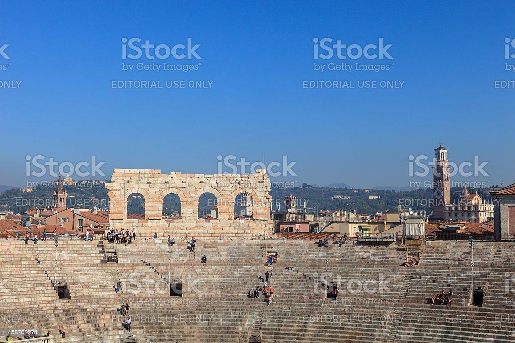 Arena of Verona, Italy royalty-free stock photo