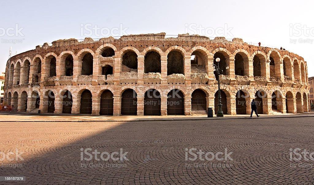 Arena of Verona stock photo