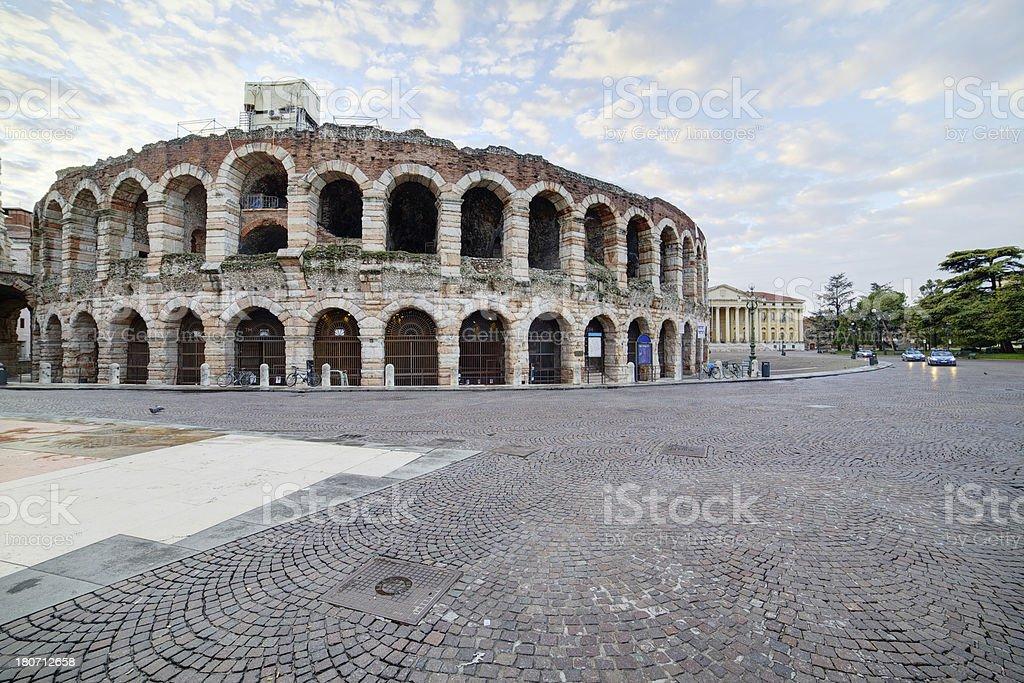 Arena of Verona-Italy stock photo