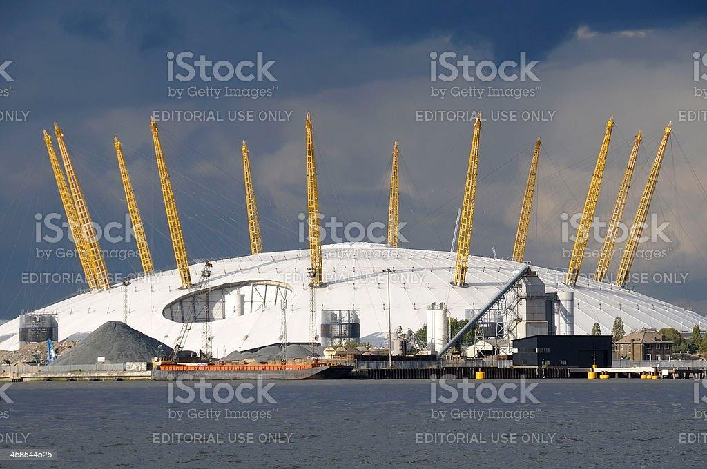O2 Arena stock photo