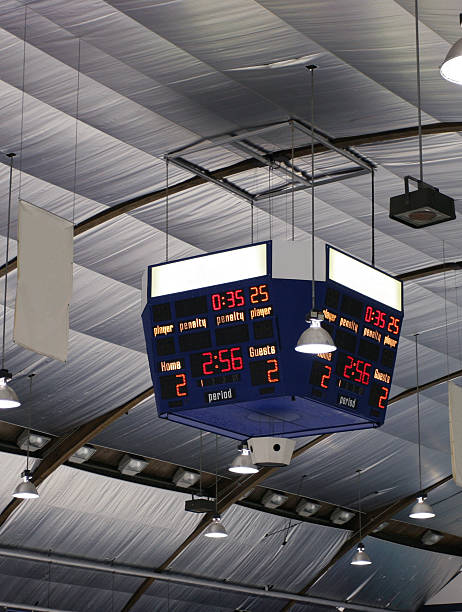 arena scoreboard - scoring stock photos and pictures