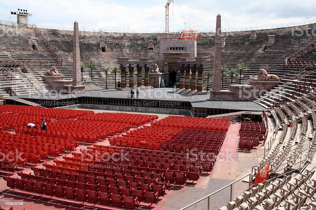 Arena di Verona Italia - foto stock