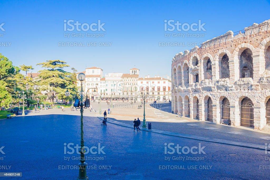 Arena di Verona - foto stock