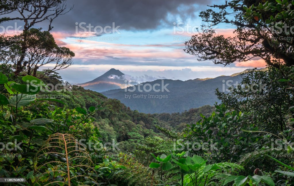 Arenal Volcano, Costa Rica - Стоковые фото Без людей роялти-фри
