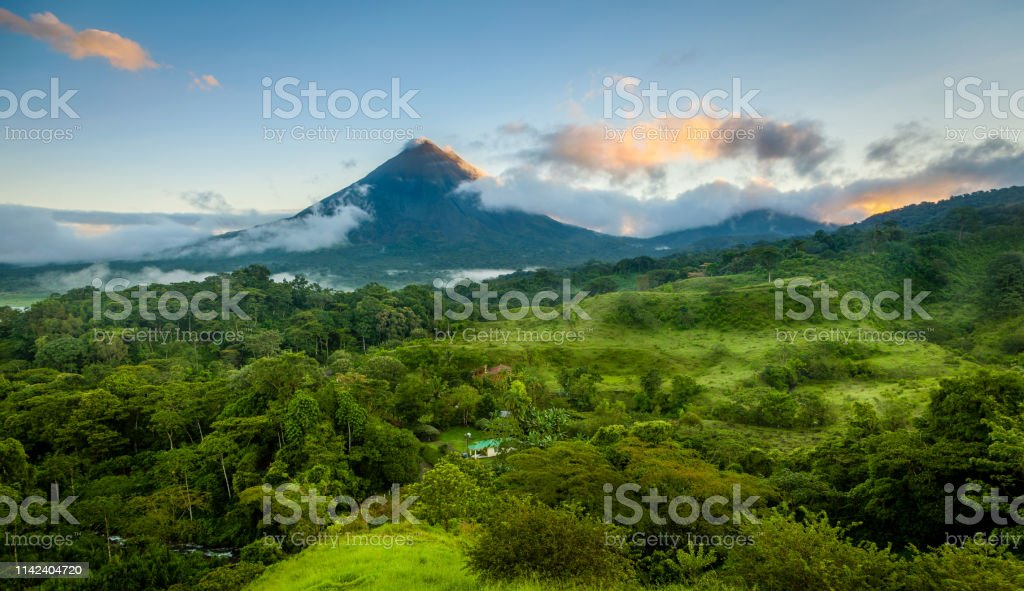 Arenal Volcano Costa Rica Stock Photo Download Image Now Istock
