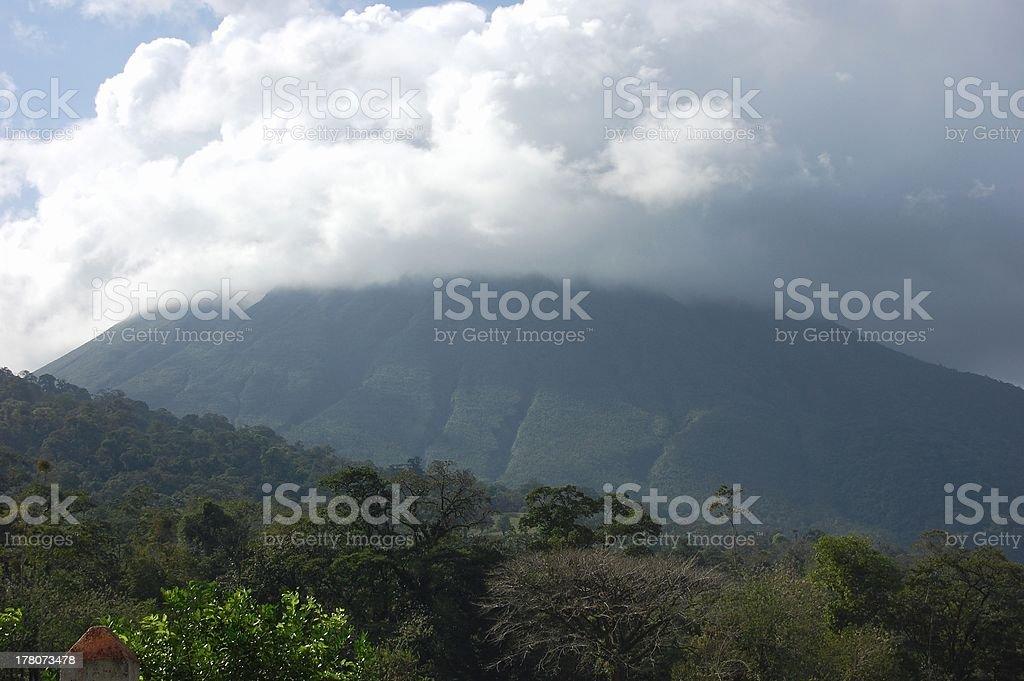 Arenal volcano, Costa Rica stock photo