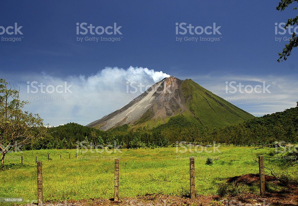 Arenal Volcano - Costa Rica stock photo