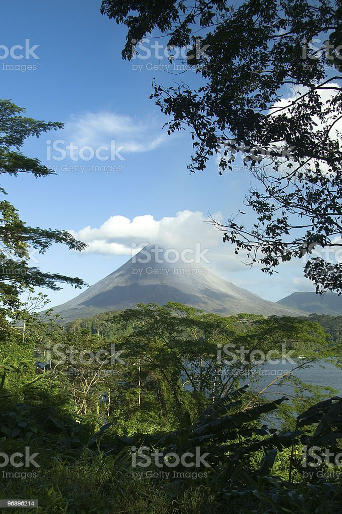 Arenal Volcano, Costa Rica royalty-free stock photo