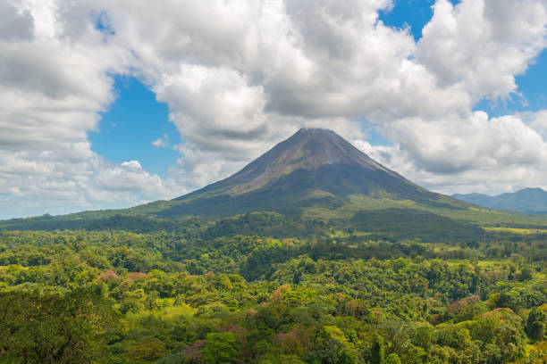 Arenal Volcano Landscape stock photo
