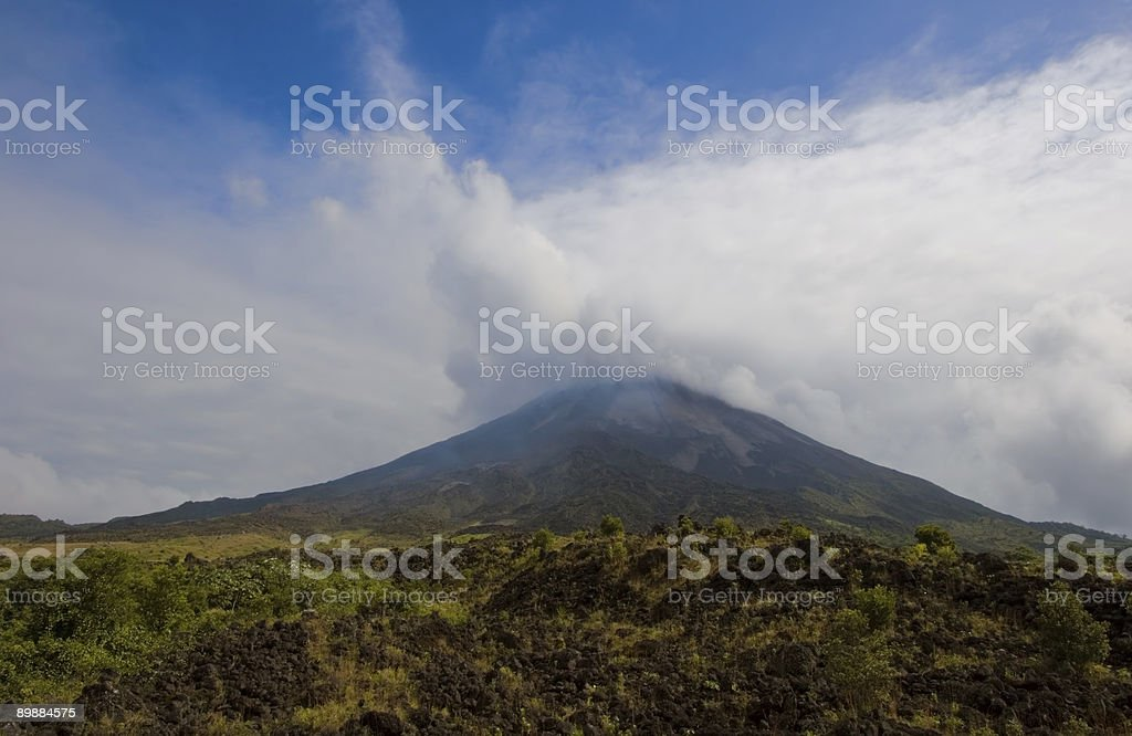 Arenal Volcano royalty-free stock photo