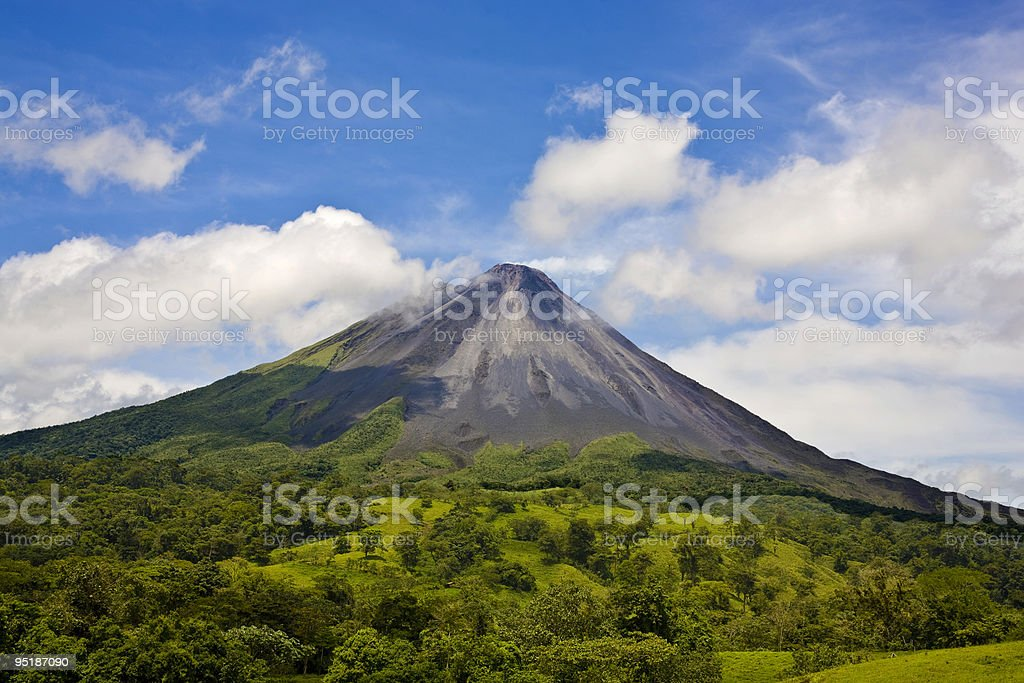 Arenal Volcano_0086 stock photo