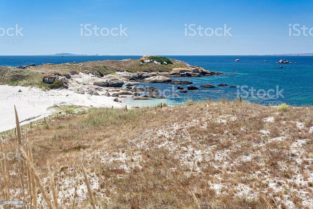 Duna Areoso isla - foto de stock