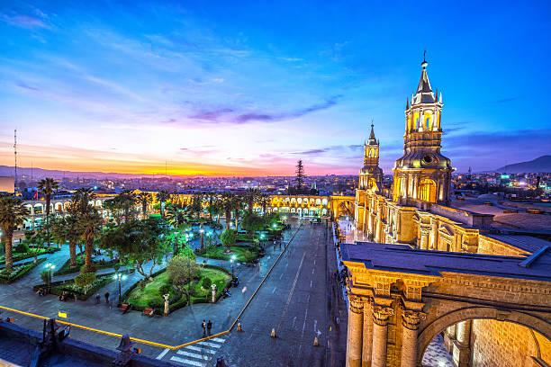 Arequipa plaza at night picture id470931972?b=1&k=6&m=470931972&s=612x612&w=0&h=hoqdqhnwb4nhwqcn0zspyoyfpnufw0 qfg 0j5lhgho=