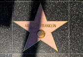 Aretha Franklin's star on Hollywood Walk of Fame
