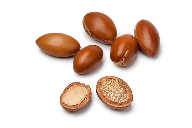 Argan nuts stok fotoğrafı