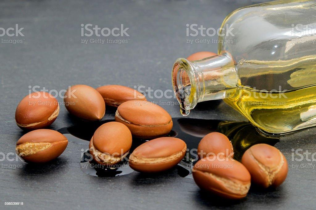 Argan oil. photo libre de droits