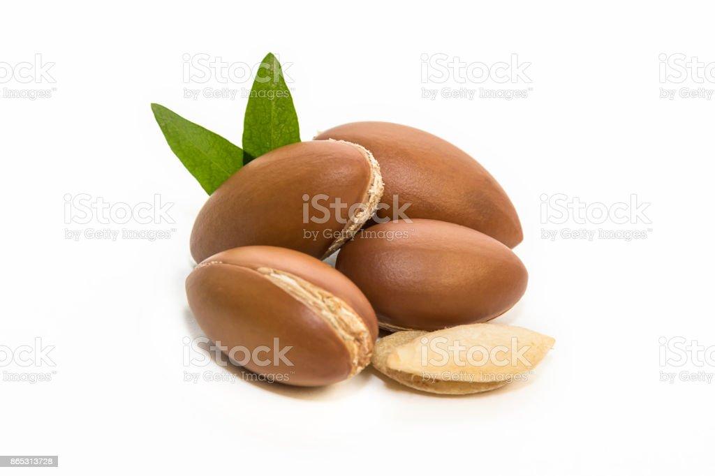Argan Samen, für die Produktion von Öl. – Foto
