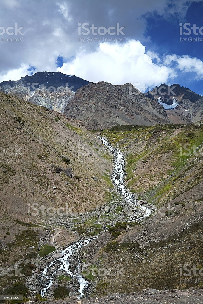 argentina andes royalty-free stock photo