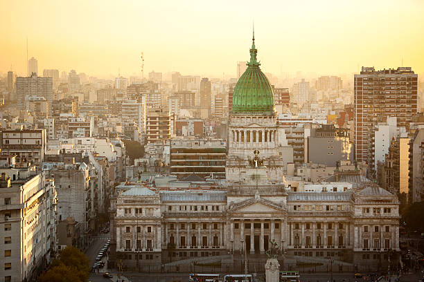 Argentina Buenos Aires aerial view of Palacio Del Congreso http://farm3.static.flickr.com/2566/4167712704_54fe3d8f96_o.jpg buenos aires stock pictures, royalty-free photos & images