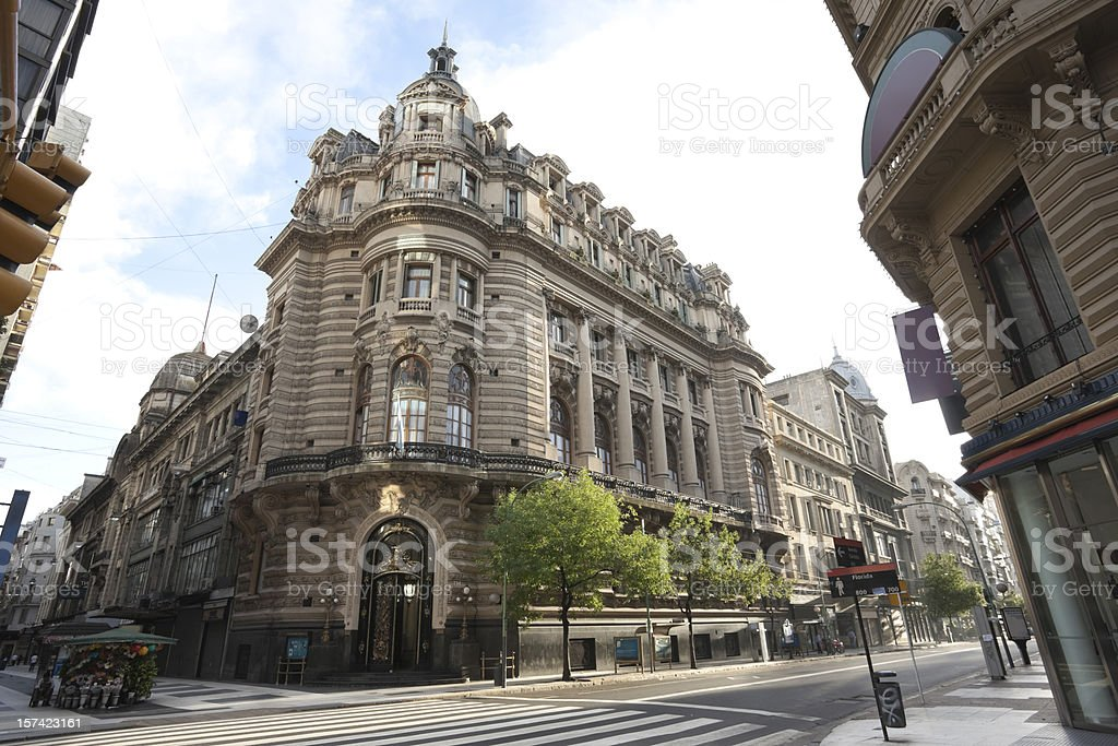 Argentina building 'Centro Naval' in Buenos Aires stock photo