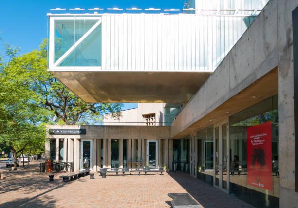 argentina cordoba emilio caraffa museum architecture - caraffa imagens e fotografias de stock