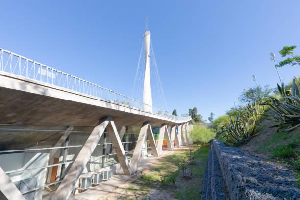 argentina cordoba supporting structures and tower of emilio caraffa museum - caraffa imagens e fotografias de stock