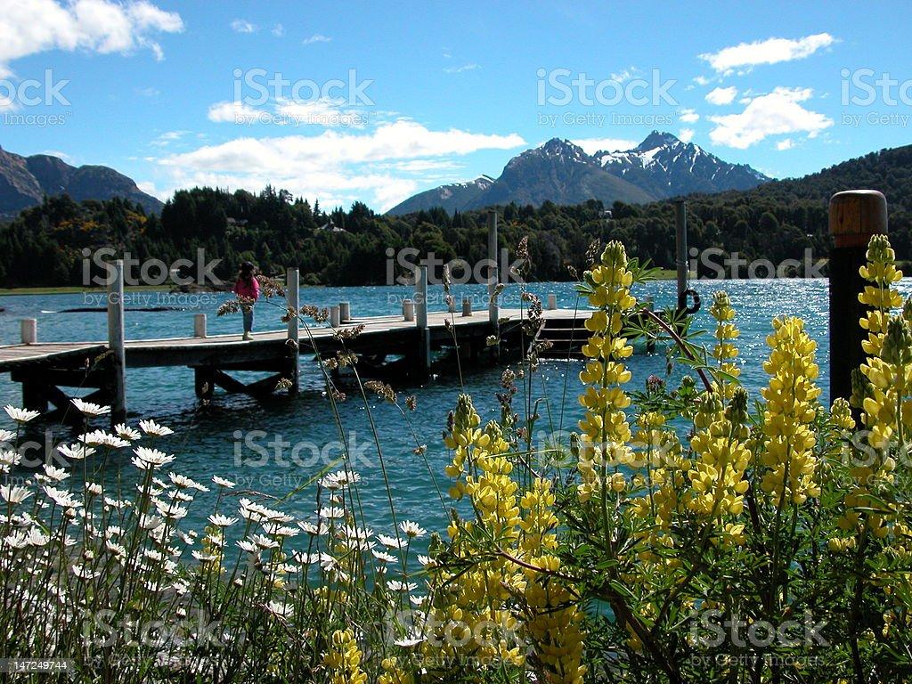 Argentina landscapes - Bariloche stock photo