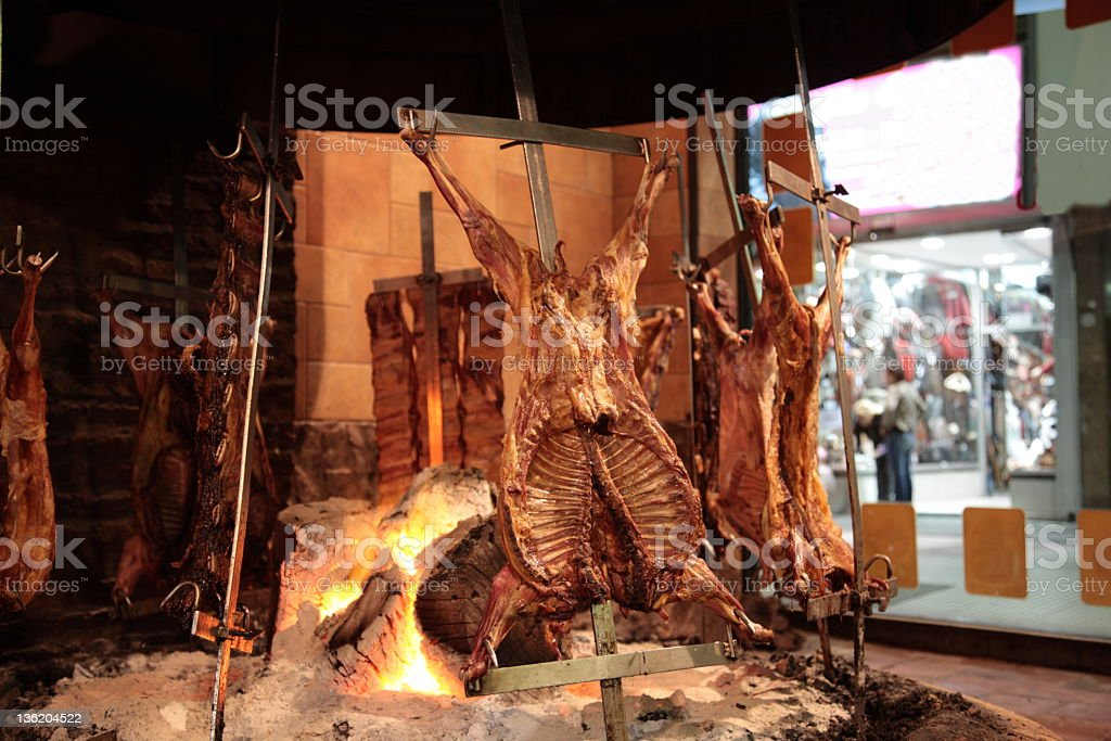 Argentina meat stock photo