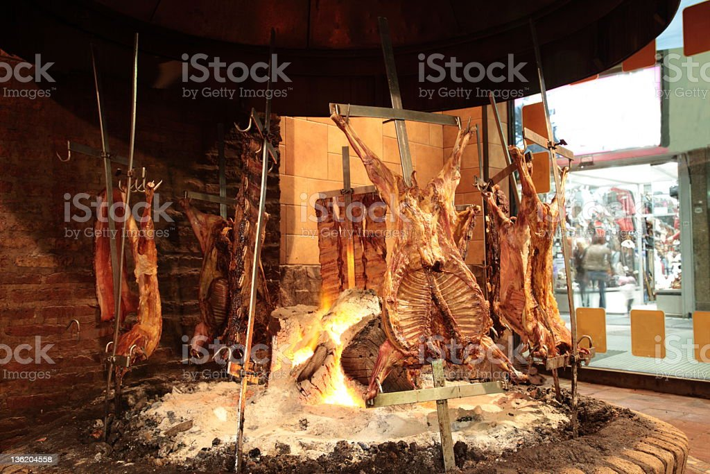 Argentina carne de - foto de stock