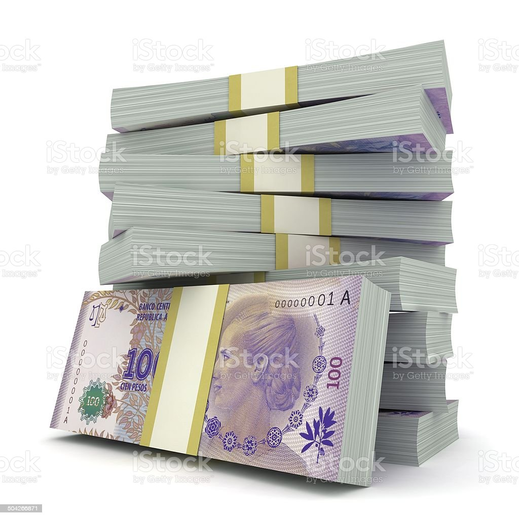 Argentina Money stock photo