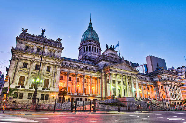 Argentina National Congress building. stock photo