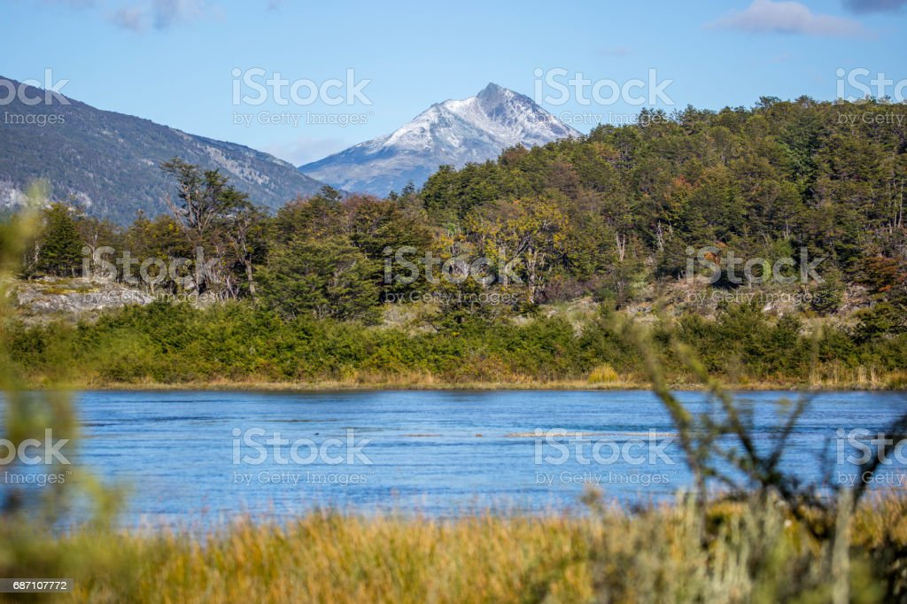 Argentinien: Tierra Del Fuego Nationalpark Lizenzfreies stock-foto