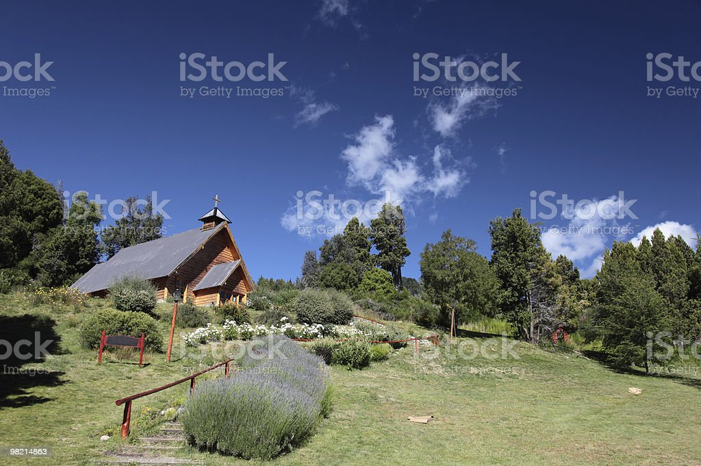 Chiesa Argentinain foto stock royalty-free