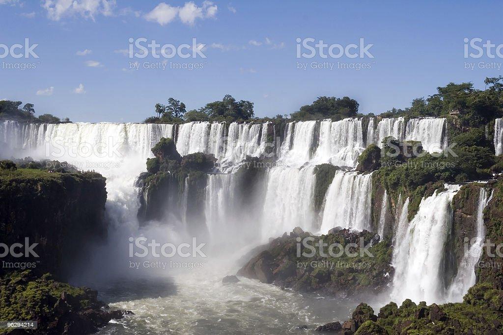Argentina's Iguazu Falls royalty-free stock photo