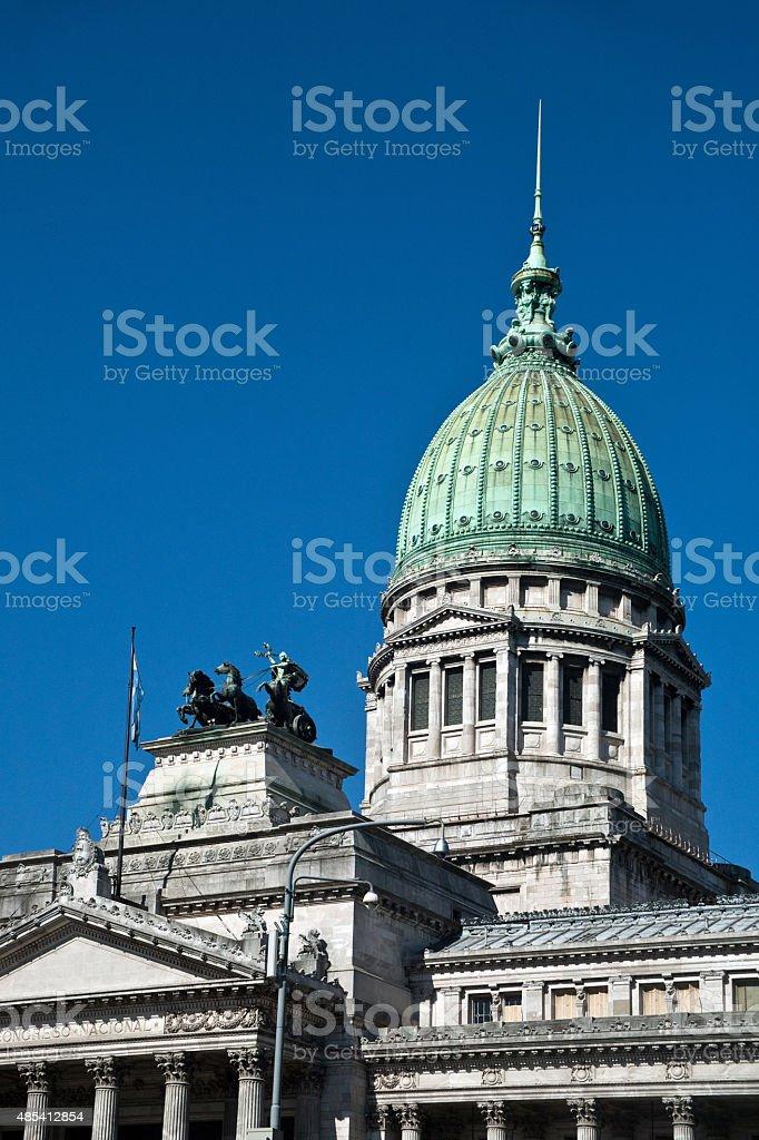Argentina's National congresso em Buenos Aires foto royalty-free