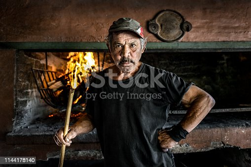 Argentine barbecue man