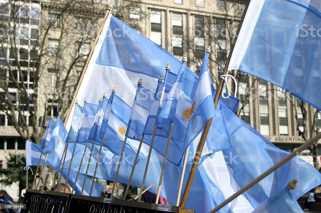 Argentine colors stock photo