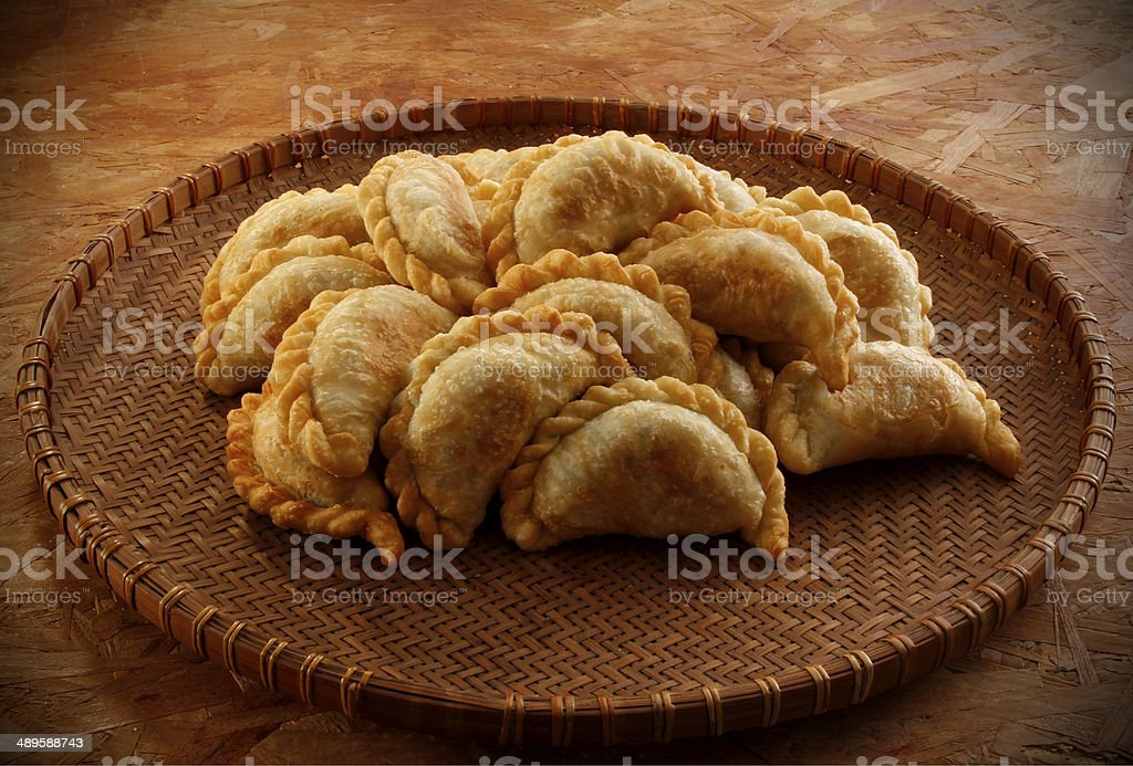 Argentine empanadas stock photo