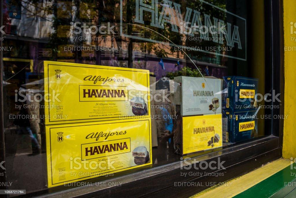 Havanna Alfajor Argentina - foto de stock