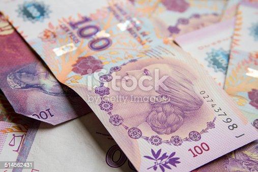 Bills, argentina pesos