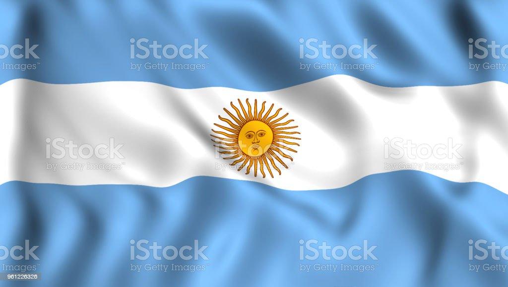 símbolo do pavilhão argentino da argentina - foto de acervo