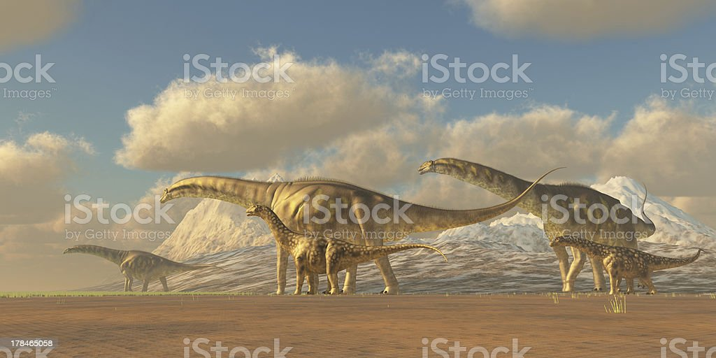 Argentinosaurus - foto de stock