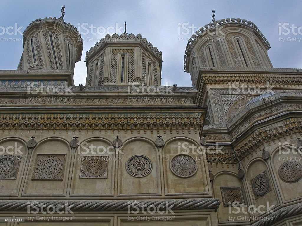 Arges monastery royalty-free stock photo