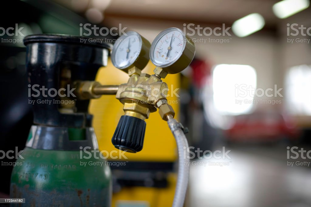 Argon Gas stock photo