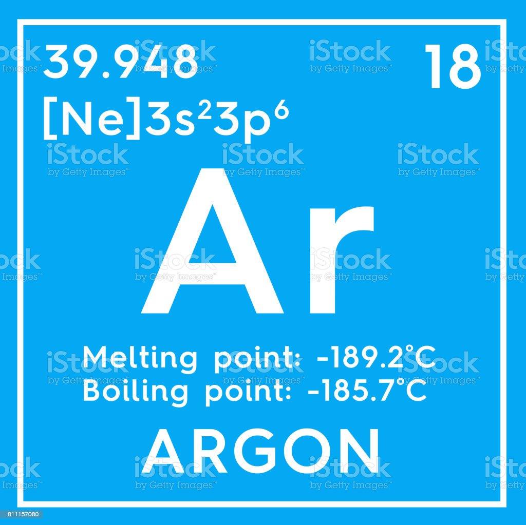 Fotografa de argn gases nobles elemento qumico de la tabla de argn gases nobles elemento qumico de la tabla de periodica de mendeleiev foto urtaz Image collections