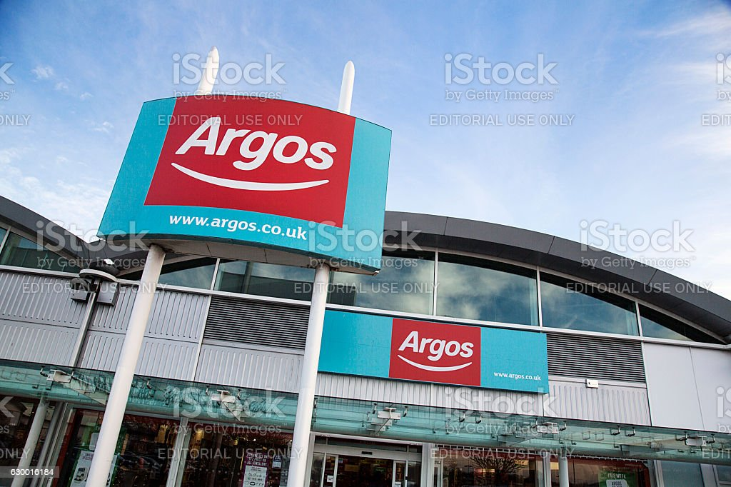 Argos - Store Front stock photo