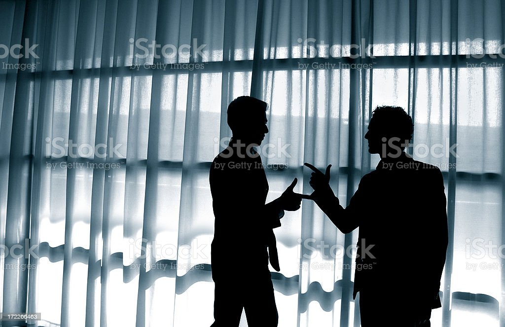 Arguing royalty-free stock photo