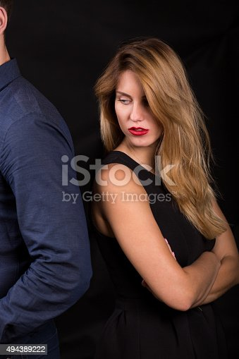istock Argument in the relationship 494389222