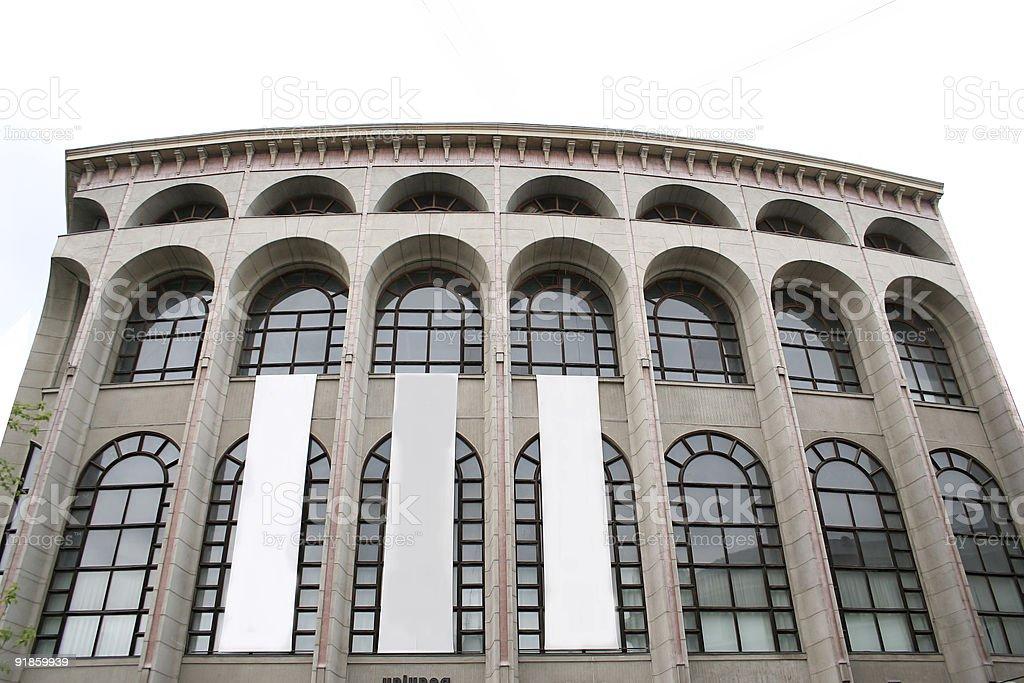 Arhitecture monument royalty-free stock photo
