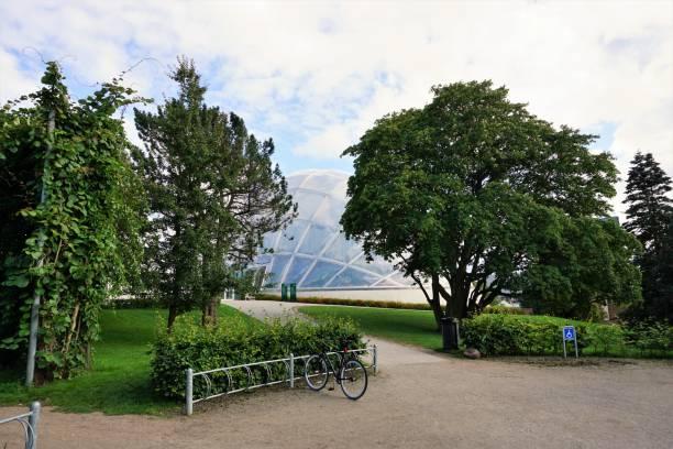 Arhus Botanic Gardens Dome stock photo